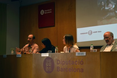 Presentación del informe sobre mujeres refugiadas en la fundación Josep Irla. Fotos: Javier Castro