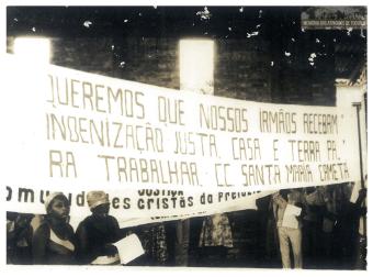 15 - Segundo Acampamento - Memoria dos Atingidos de Tucuruí