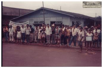 27 - Segundo Acampamento - Memoria dos Atingidos de Tucuruí