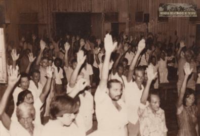 7 - Primeiro Acampamento - Memoria dos Atingidos de Tucuruí