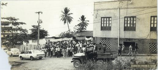 70 - Primeiro Acampamento - Memoria dos Atingidos de Tucuruí