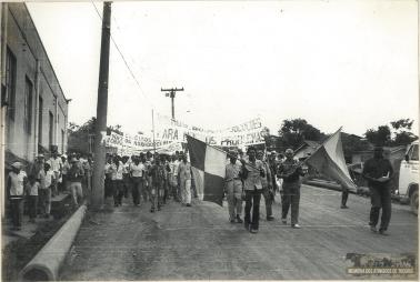 74 - Primeiro Acampamento - Memoria dos Atingidos de Tucuruí