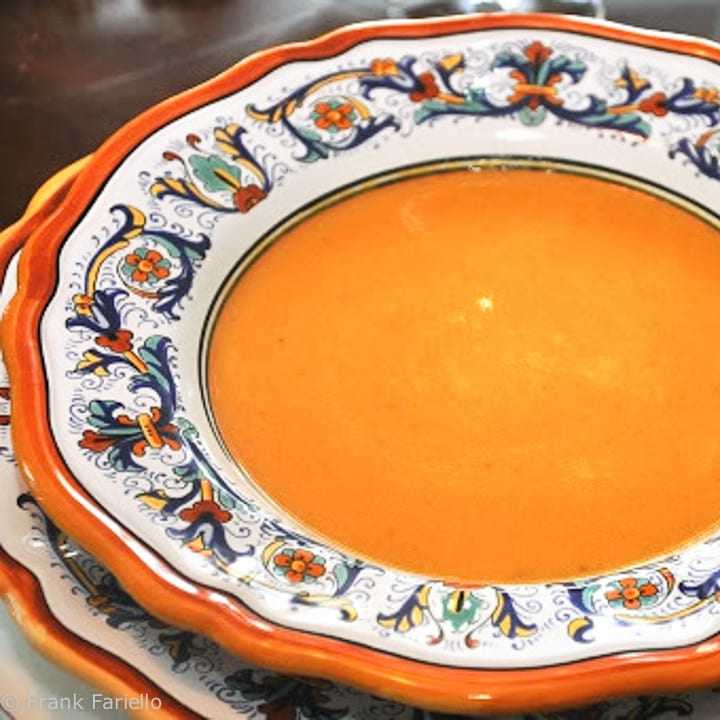 Crema di zucca (Winter Squash Soup)