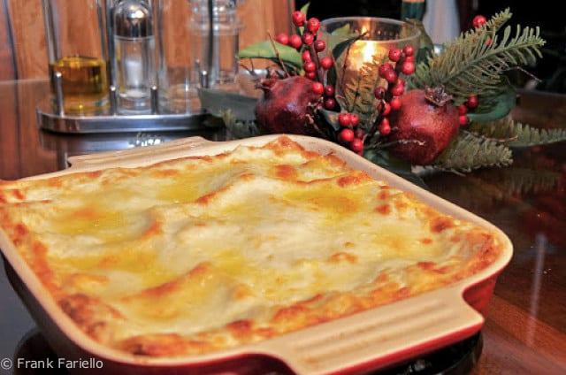 Lasagne alla bolognese (Bolognese Lasagna)