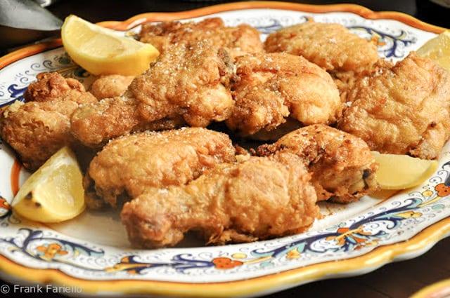 Hanukah Fried Chicken