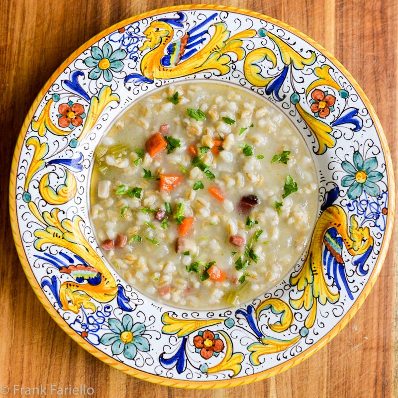 Zuppa di orzo (Italian Barley Soup)