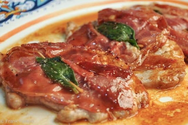 Saltimbocca alla romana (Roman-Style Veal Scallops)