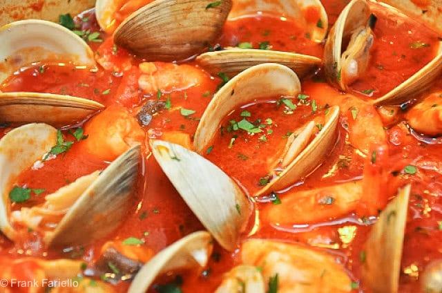 Zuppa Di Pesce Alla Napoletana Neapolitan Fish Stew Memorie Di