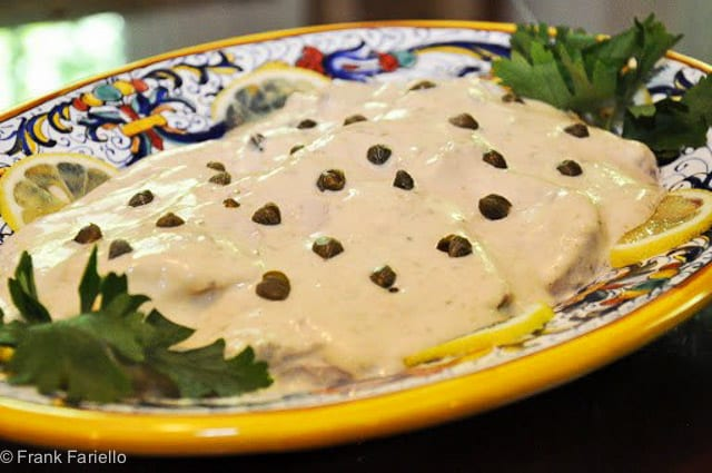 Vitello tonnato (Tunnied Veal)