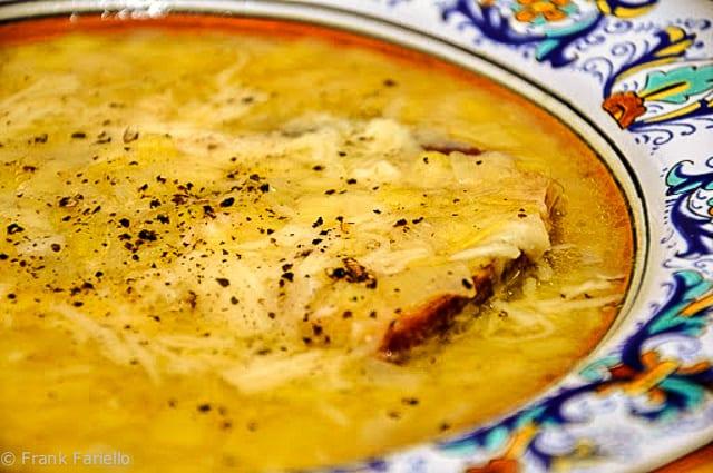 Zuppa di porri (Tuscan Leek Soup)