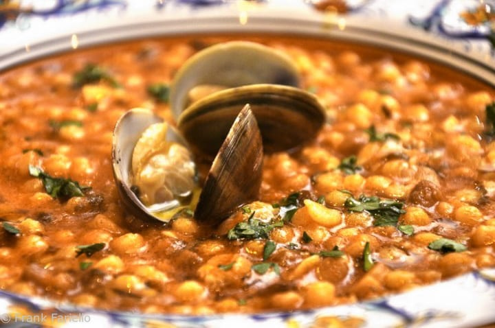 Fregola with Baby Clams