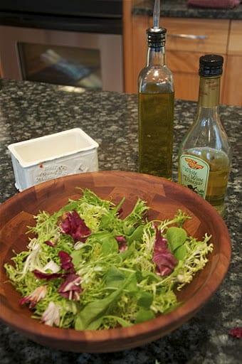 On Dressing a Salad