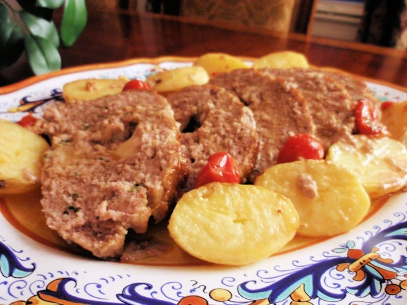 Angelina's Polpettone (Italian-Style Meatloaf)