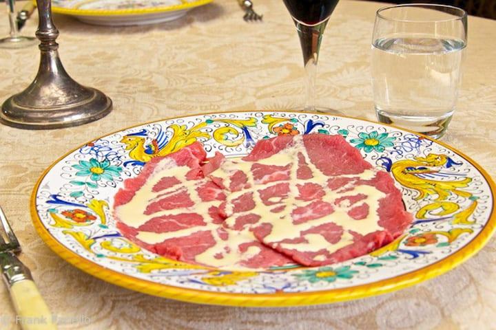 Beef Carpaccio: The Original Recipe