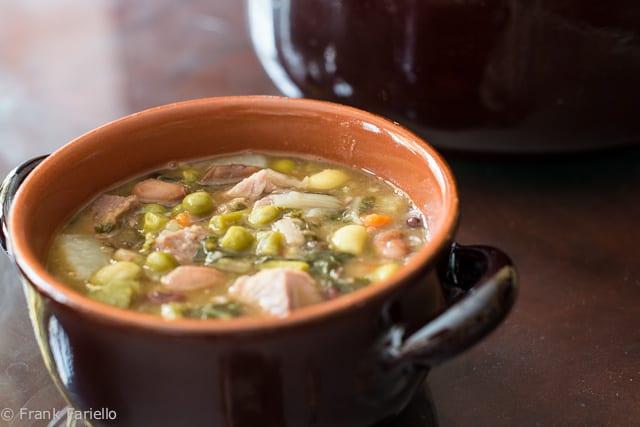 Abruzzese minestrone