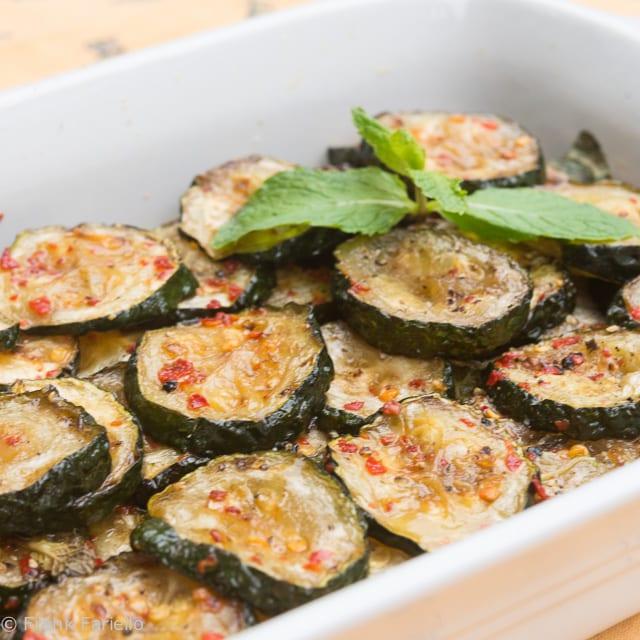 Zucchine «a scapece» (Piquant Fried Zucchini)