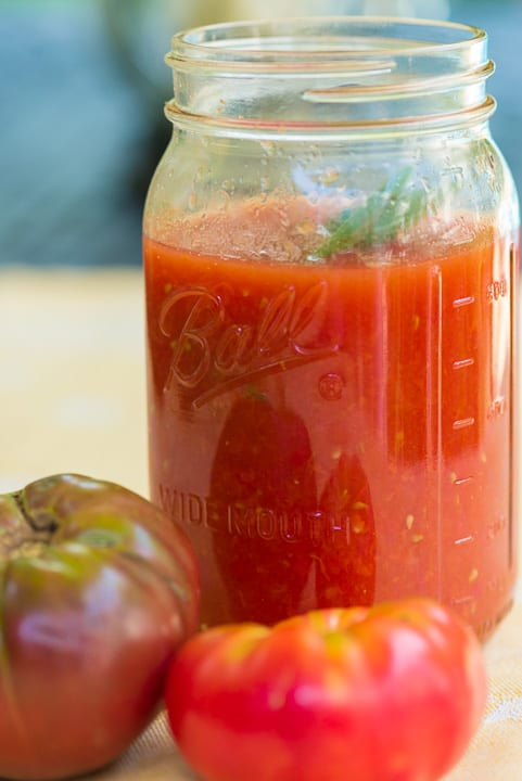 Passata di pomodoro: Step by step