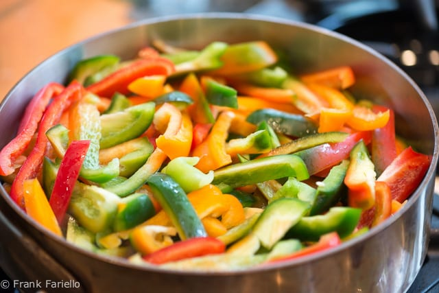 Peperoni in padella (Angelina's Fried Peppers)