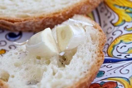 Split Garlic