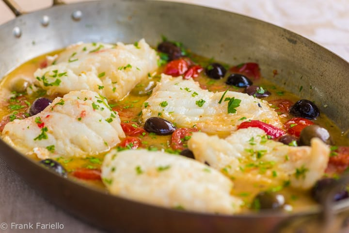 "Pesce all'acqua pazza (Fish Poached in ""Crazy Water"")"