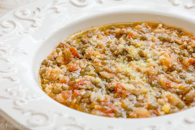 Rice and Lentils (Riso e lenticchie)