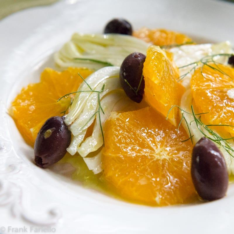 Insalata di arance e finocchi (Orange and Fennel Salad)