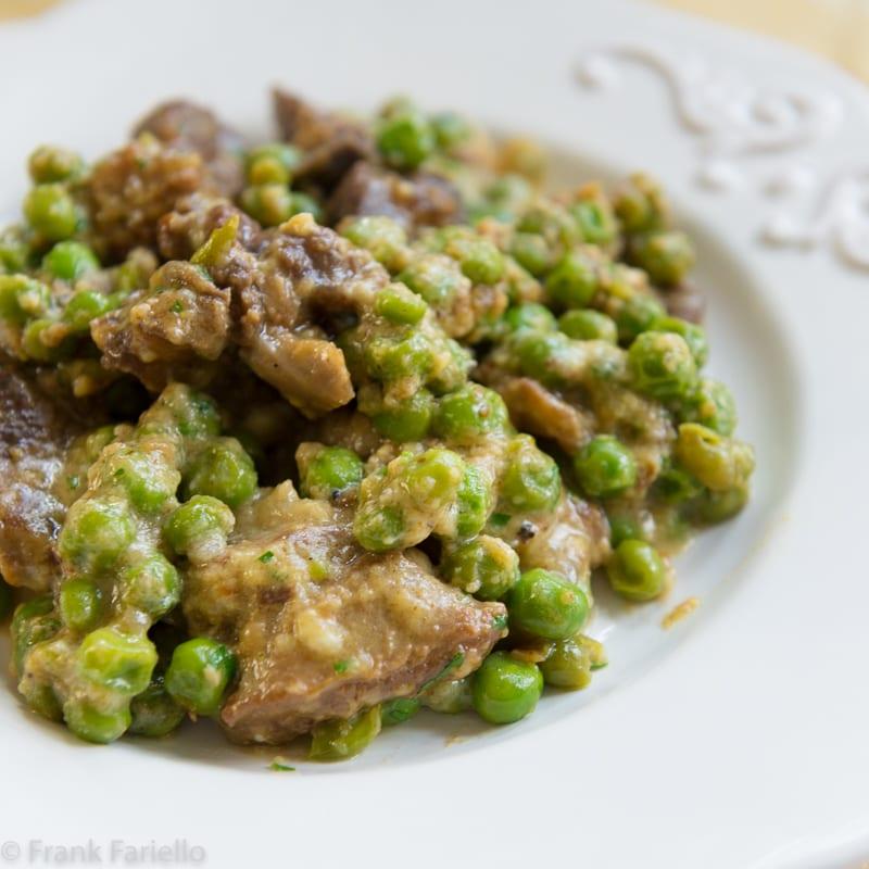 Agnello e piselli (Lamb and Peas)