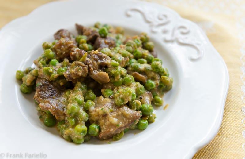 Lamb and Peas