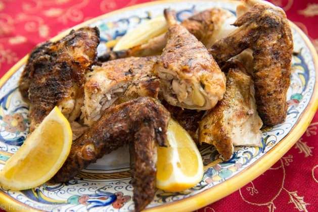 Pollo al mattone (Chicken under a Brick)