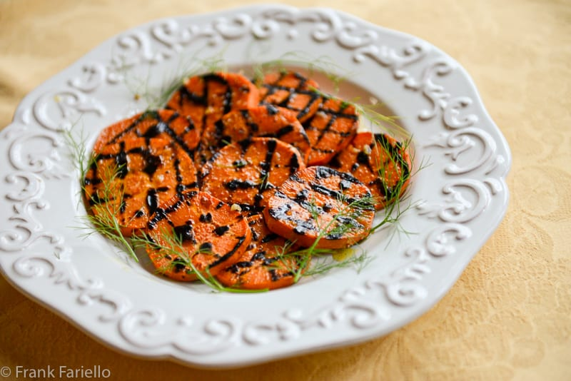 Patate dolci alla griglia (Grilled Sweet Potatoes)