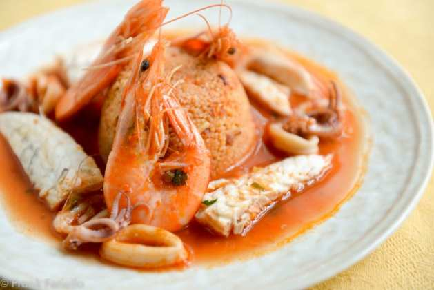 Couscous di pesce (Fish Couscous)