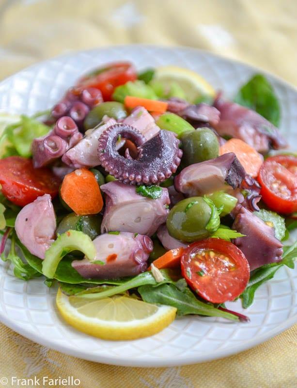 Polpo all'insalata (Octopus Salad)