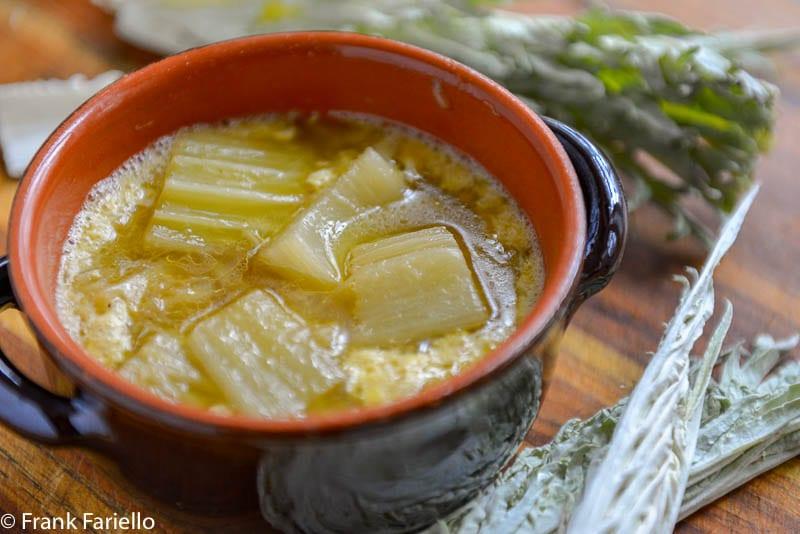Zuppa di cardi (Cardoon Soup)
