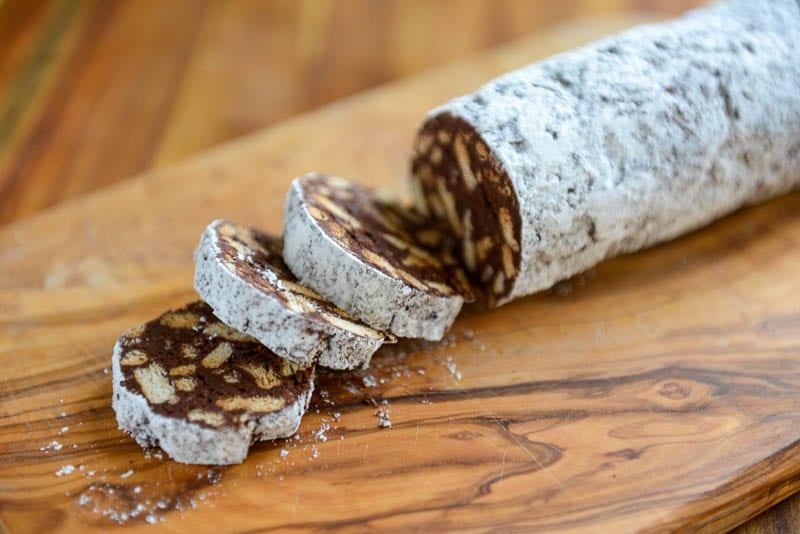 Chocolate Salami (Salame di cioccolato)