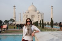 Photo courtesy of Becky, Taj Mahal, India