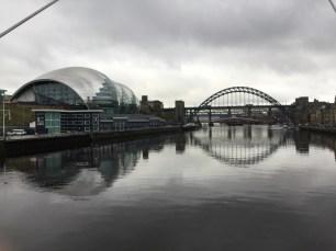 Photo courtesy of Julie, Sage Gateshead and Tyne bridge in background