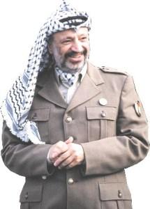 Yasir Arafat ldr of the PLO
