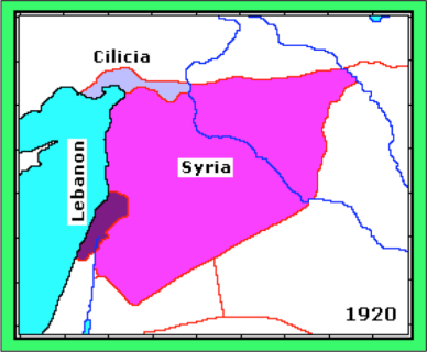 old syria