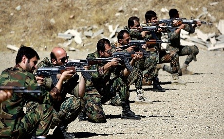 Irabnain t4roops in Syria