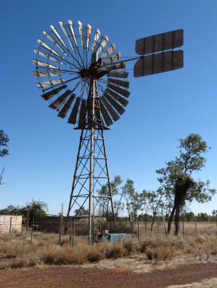 Windmills heart beat of the outback