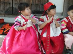 So clean and tidy in Hanbok (National Costume)