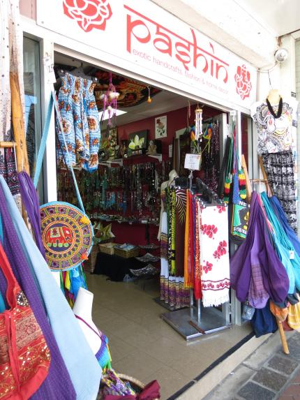 Colourful Indian clothes