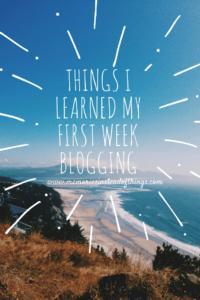 learned blog blogging