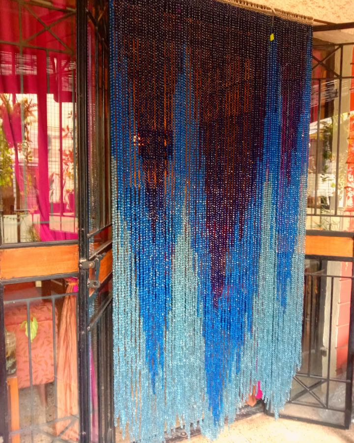 beaded curtains interior design door