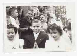 jimmy's First Communion May 9, 1948