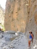 High rock walls