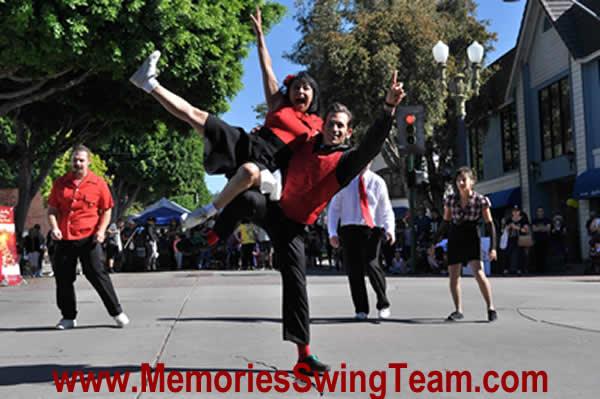 Memories Swing Team