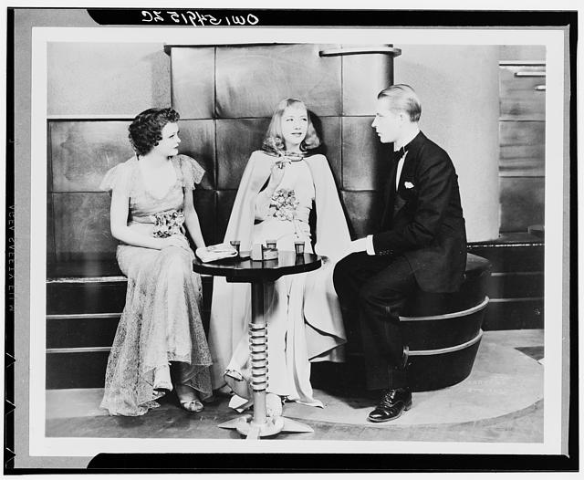 Idiots Delight. American Theatre Guild production, 1935-1936, starring Alfred Lunt and Lynne Fontanne.