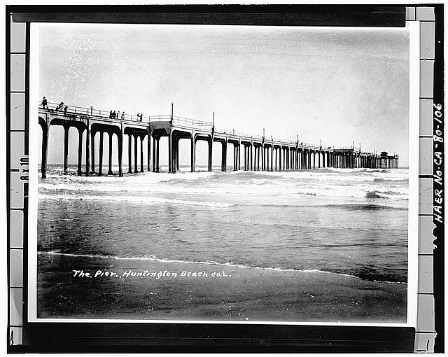 1930 north side Huntingon Pier image from Library of Congress