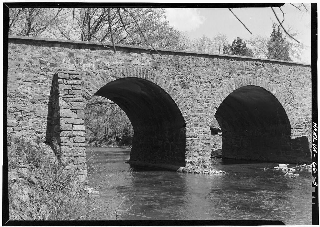 1962 View of South Face of Bridge